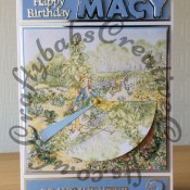 Peter Rabbit Circle Slider Card