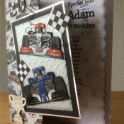 Men's birthday card - craftybabscreativecrafts.co.uk