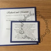 Wedding Invitation, Hougie board, Crafters Companion Big Score - craftybabscreativecrafts.co.uk