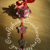 Tattered Lace Kaleidoscope Bauble - craftybabscreativecrafts.co.uk