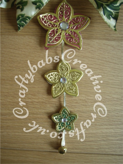 Tattered Lace kaleidoscope Flower Decoration - craftybabscreativecrafts.co.uk