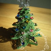 Tattered Lace kaleidoscope Flower Christmas Tree Decoration - craftybabscreativecrafts.co.uk