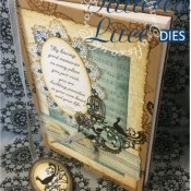 Tattered Lace Bird Of Paradise Journal - craftybabscreativecrafts.co.uk