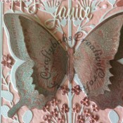 Beautiful Butterfly Stampin up Swallowtail butterfly - craftybabscreativecrafts.co.uk