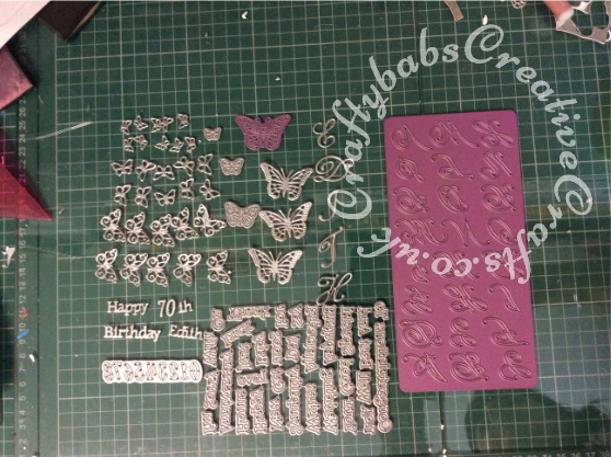 Tattered Lace Pentagon Exploding Box Card Tutorial 7 - craftybabscreativecrafts.co.uk