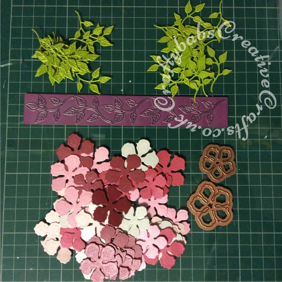 Tattered Lace Pentagon Exploding Box Card Tutorial 8 - craftybabscreativecrafts.co.uk