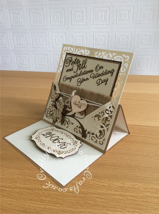 Wedding Card and matching Gift 5 | Craftybabs Creative Crafts