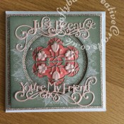Dimensional bithday card - craftybabscreativecrafts.co.uk