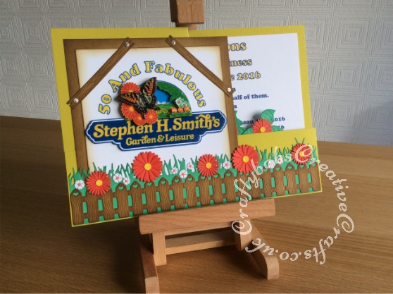 A4 Double Z Fold Pop Up Card, Cheery Lynn, La La Land, Marianne Creatables, Xcut dies - craftybabscreativecrafts.co.uk