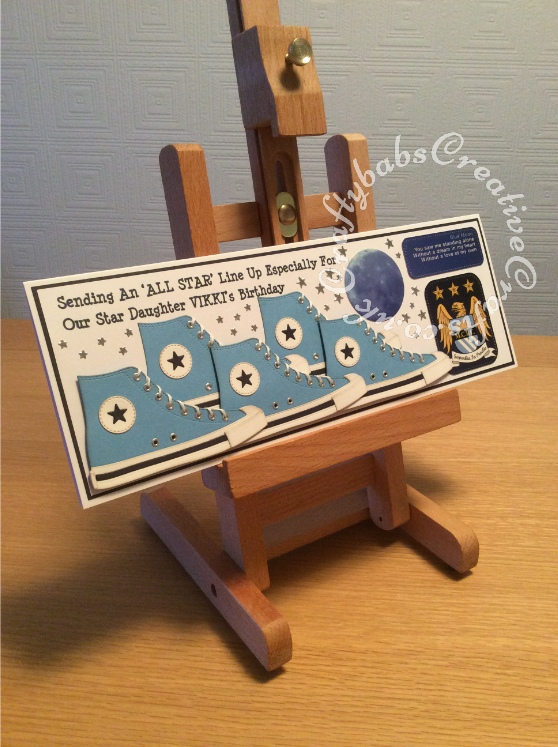 MFT All Star High Top dies, Manchester City Fan, Birthday Card - craftybabscreativecrafts.co.uk