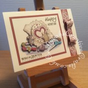 House Mouse Mother's day card made using Joanna Sheen Housemouse CD Rom and few dies including Die-namics MFT Dainty Bows die and Tattered Lace Florentine Bow die. Sentiment stamped using Apple Blossom 'Life's Pleasures sentiment stamps. - craftybabscreativecrafts.co.uk