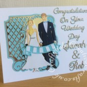 Wedding Card MCFC Couple