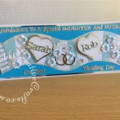 Wedding Card MCFC Scarf1