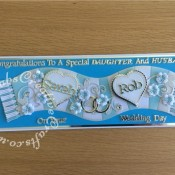 Wedding Card MCFC Scarf2